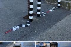 Zabavne kreacije na gardskim ulicama