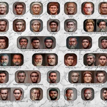Znate li kako je izgledao car Dioklecijan? Pogledajte fantastičnu preobrazbu rimskih careva!