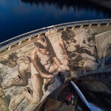 Ovako izgleda najveći mural na brani (na svijetu)