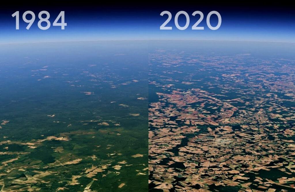 Pogledajte kako se naš planet brzo mijenja pred našim očima