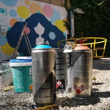 Street art osvježio oronule površine dječjeg parka u Rijeci
